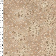 100% Cotton Beige Flutter Print Blender Fabric 44